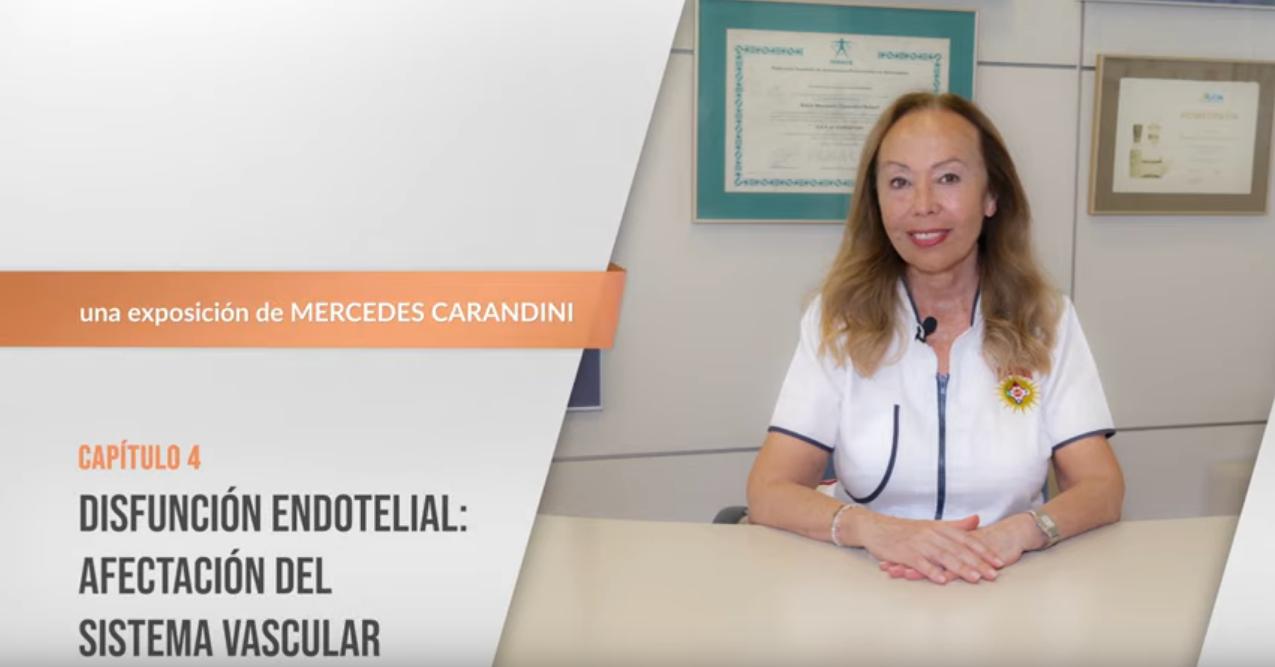 4. Disfunción endotelial: afectación del sistema vascular
